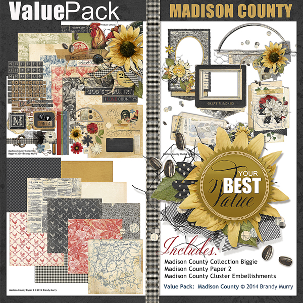 Value Pack: Madison County