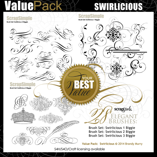 Value Pack: Swirlicious