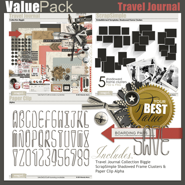 Also Available: Value Pack: Travel Journal (Sold Separately)