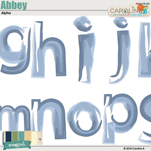 Abbey Alpha by Caroline B.