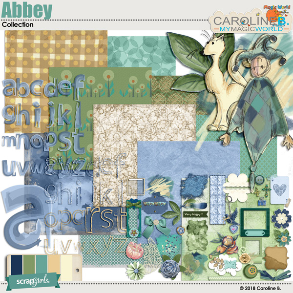 Abbey Collection by Caroline B.