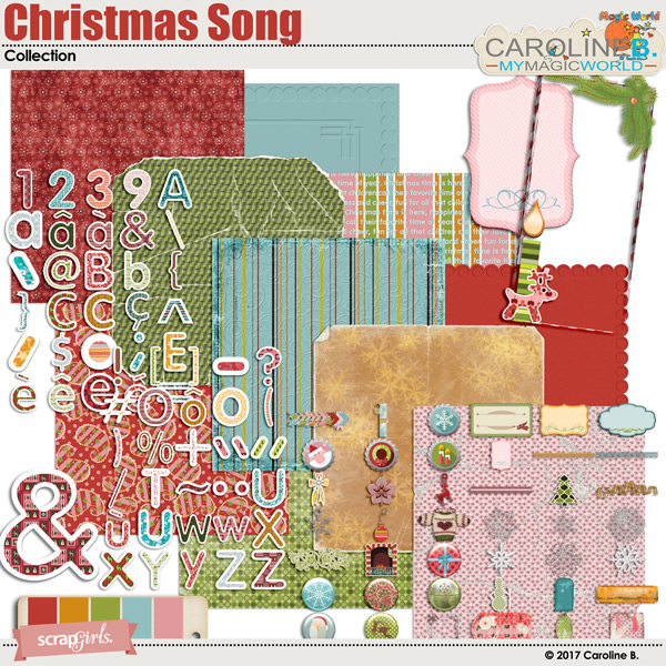 Christmas Song Collection by Caroline B.