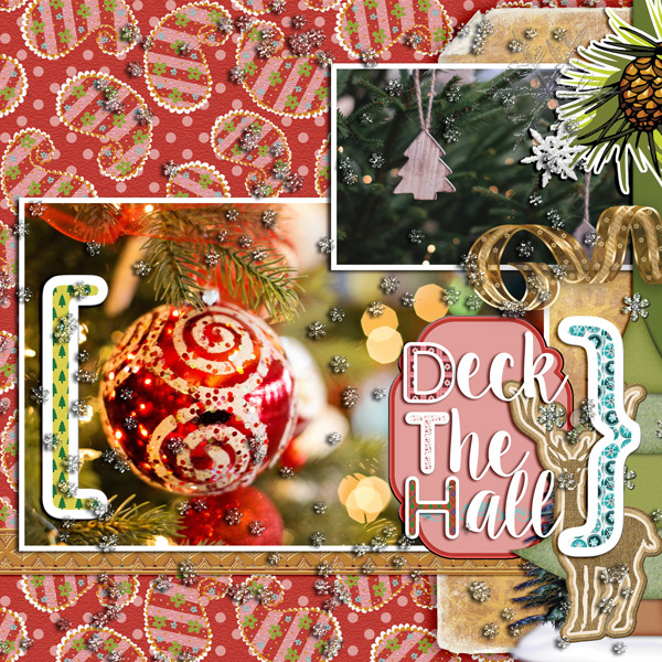 LO made with Christmas Song Collection by Caroline B.