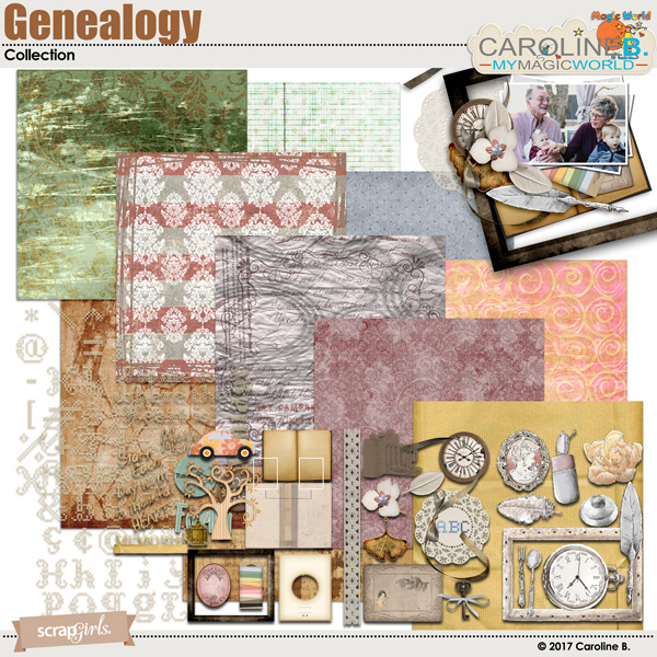 Genealogy Collection by Caroline B.