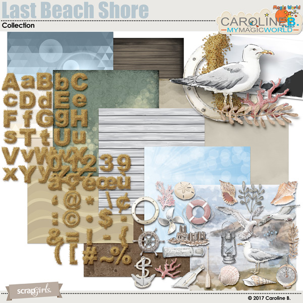 Last Beach Shore Collection by Caroline B.