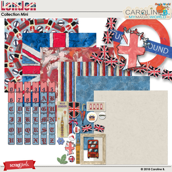 London Collection Mini by Caroline B.