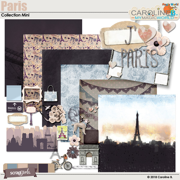 Paris by Caroline B.