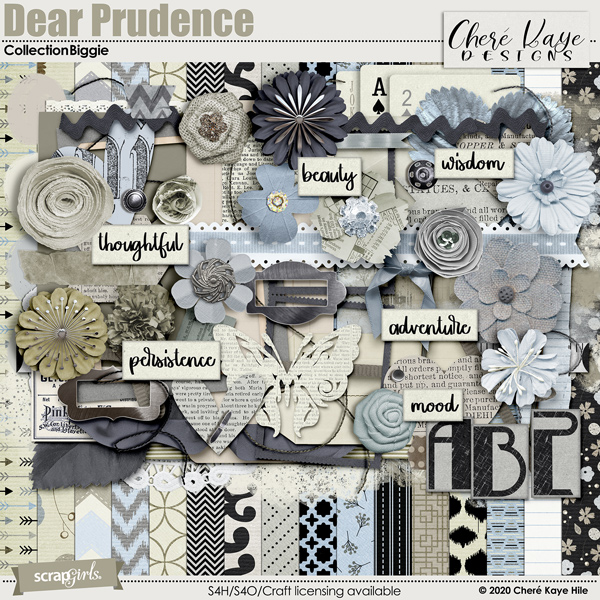 Dear Prudence Collection Biggie by Chere Kaye Designs