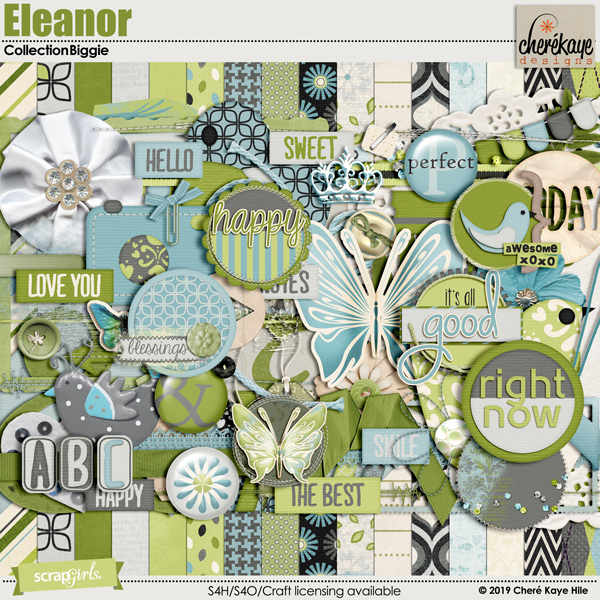 Eleanor Collection Biggie by Cheré Kaye Designs