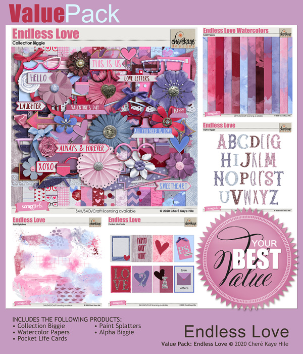 Value Pack: Endless Love by Chere Kaye Designs