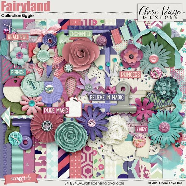 Fairyland Collection Biggie by Chere Kaye Designs