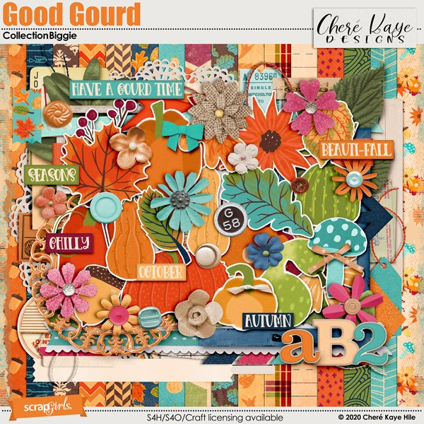 Good Gourd Collection Biggie by Chere Kaye Designs