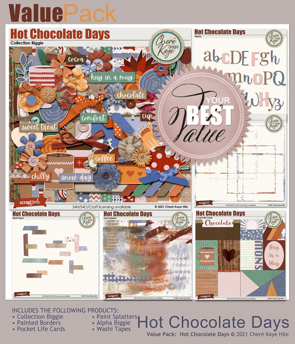Value Pack: Hot Chocolate Days