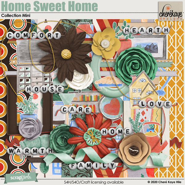 Home Sweet Home Collection Mini by Chere Kaye Designs