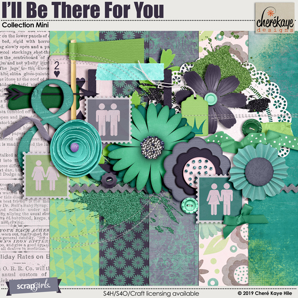 I'll Be There For You Collection Mini by Cheré Kaye Designs