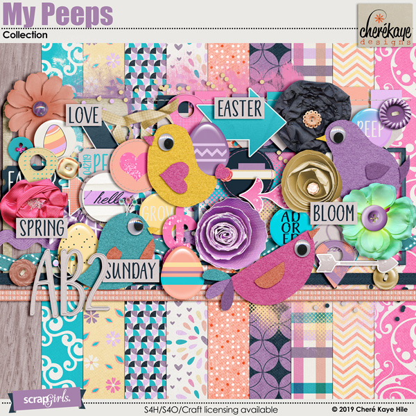 My Peeps Collection by Cheré Kaye Designs