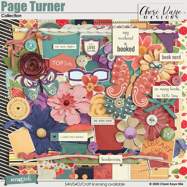 Page Turner Collection by Chere Kaye Designs