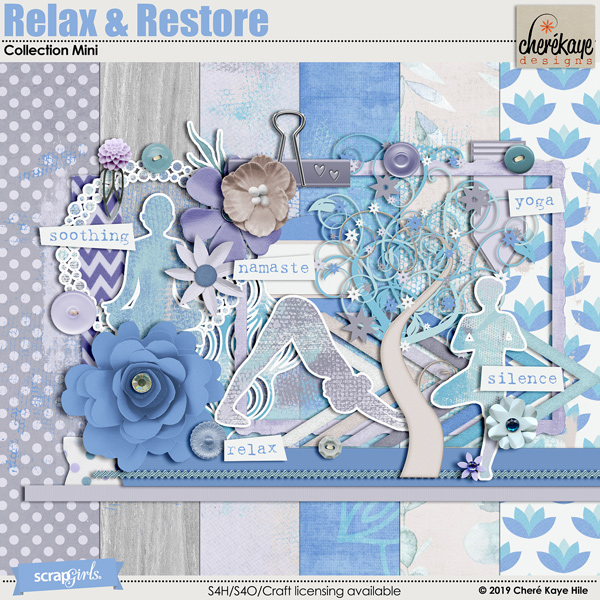 Relax & Restore by Cheré Kaye Designs
