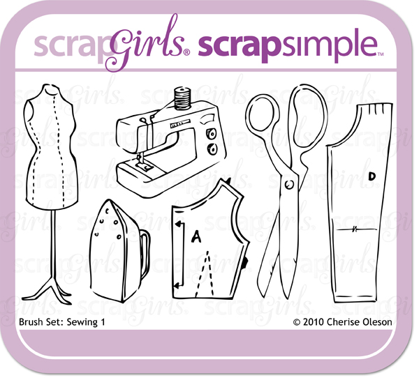 Brush Set: Sewing 1 - Commercial License