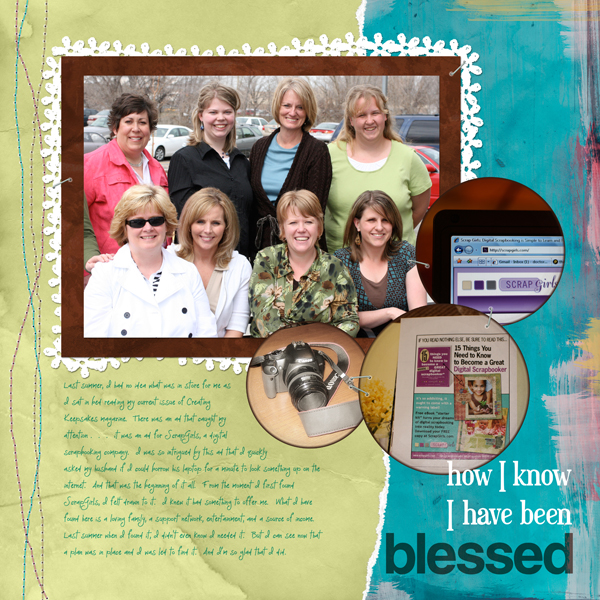 Layout by Cherise Oleson (Products used listed and linked below)