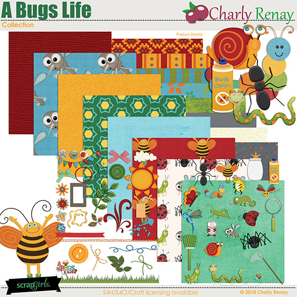 A Bugs Life Collection By Charly Renay