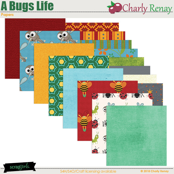 A Bugs Life Papers By Charly Renay