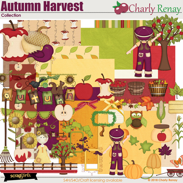 Autumn Harvest Collection By Charly Renay