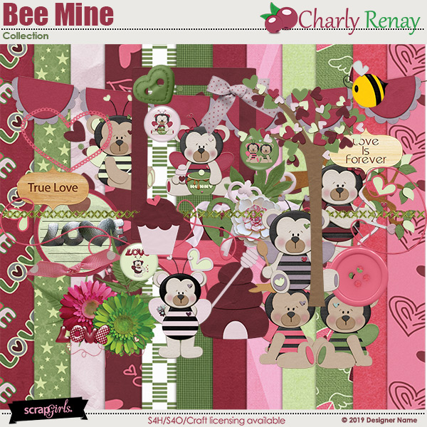 Bee Mine Collection By Charly Renay