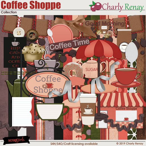 Coffee Shoppe Collection By Charly Renay