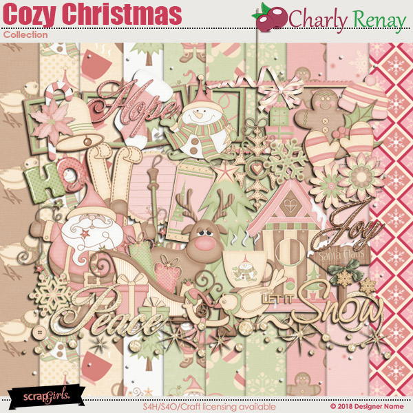 A Cozy Christmas Collection By Charly Renay