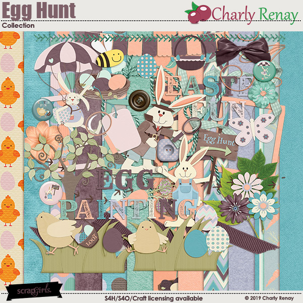 Egg Hunt Collection By Charly Renay