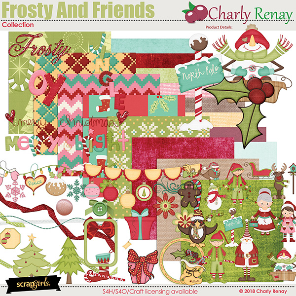 Frosty And Friends Collection By Charly Renay