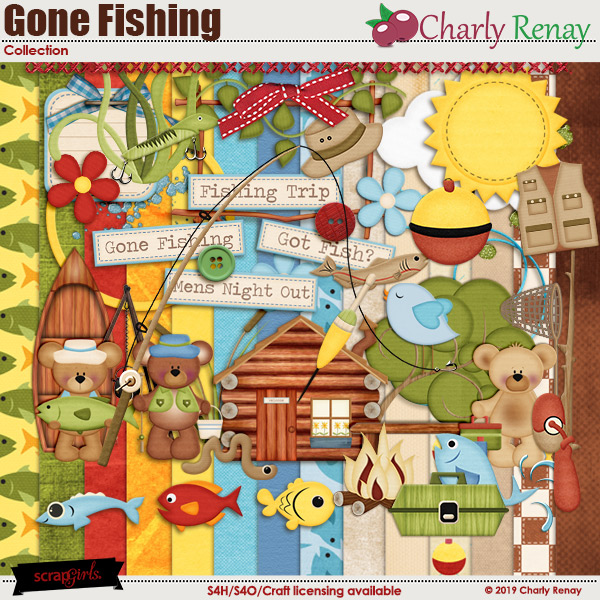Gone Fishing Collection By Charly Renay