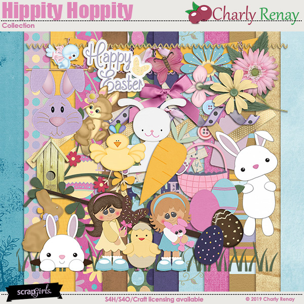 Hippity Hoppity Collection By Charly Renay