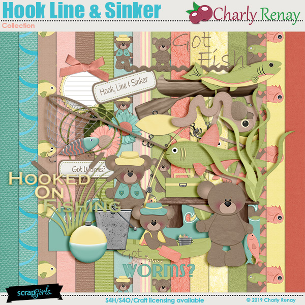Hook Line Sinker Collection By Charly Renay