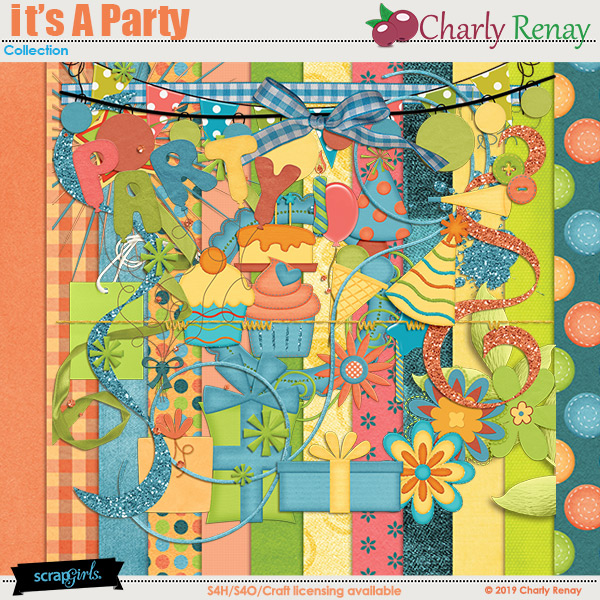 It's A Party Collection By Charly Renay
