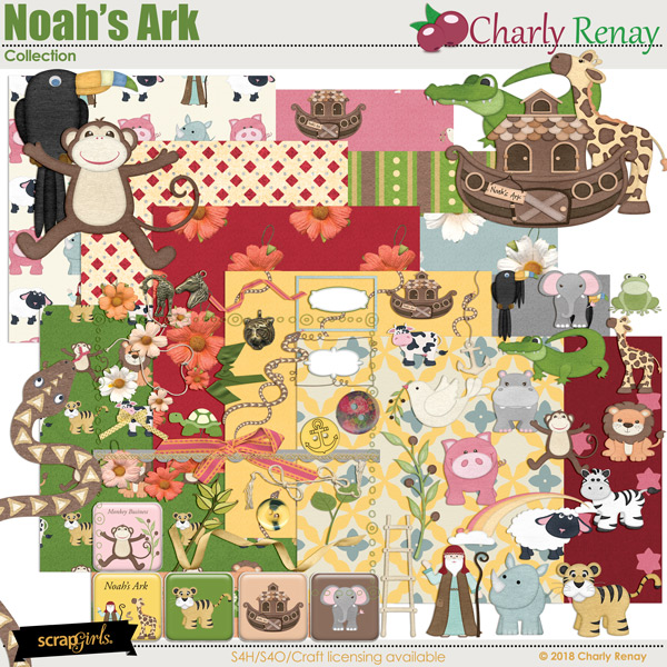 Noahs Ark Collection By Charly Renay