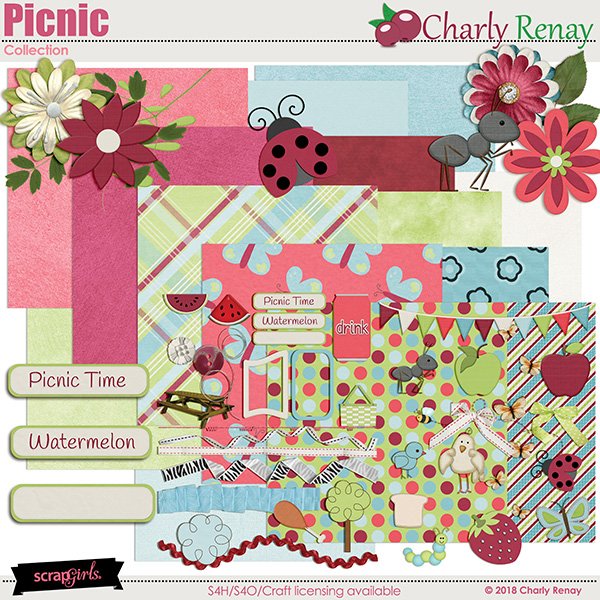 Picnic Collection By Charly Renay