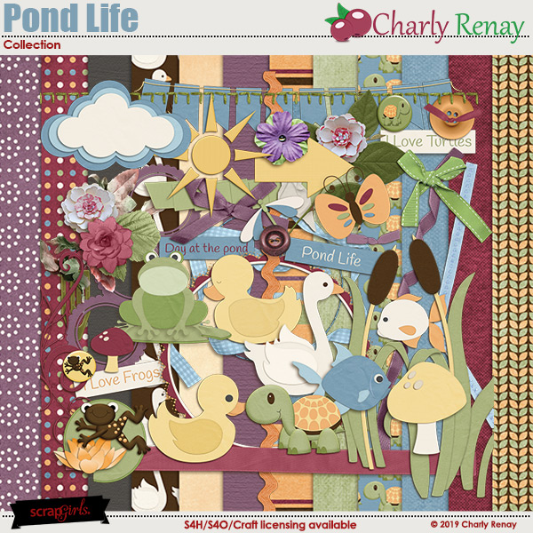 Pond Life Collection By Charly Renay