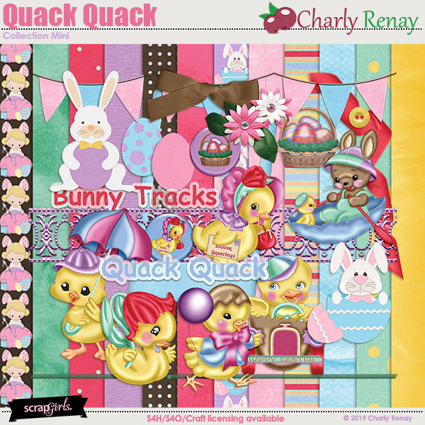 Quack Quack Collection Mini By Charly Renay