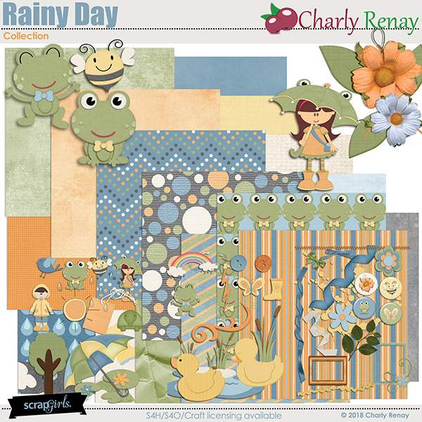 Rainy Day Collection By Charly Renay