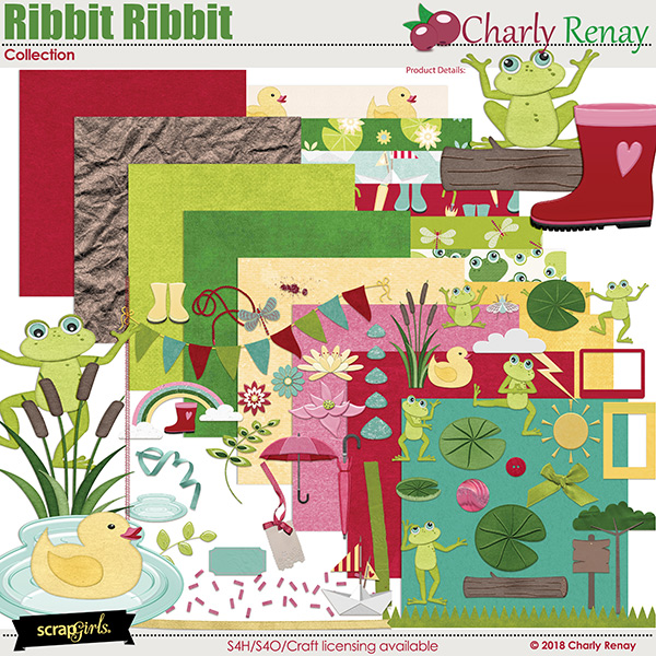 Ribbit Ribbit Collection By Charly Renay