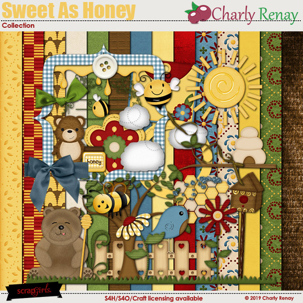 Sweet As Honey Collection By Charly Renay