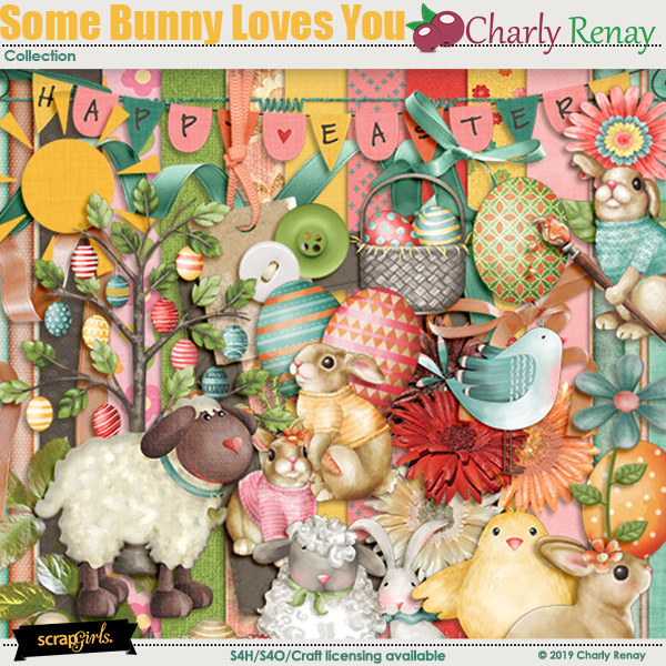 Some Bunny Loves You Collection By Charly Renay