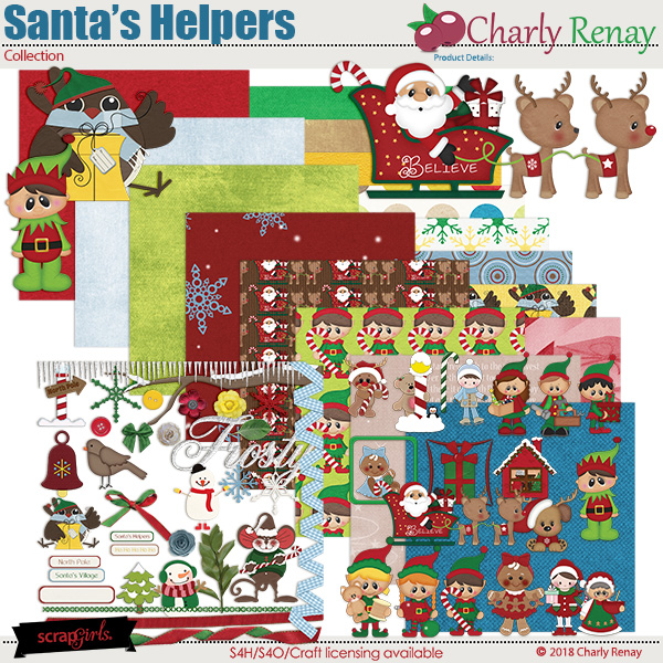 Santa's Helpers Collection By Charly Renay