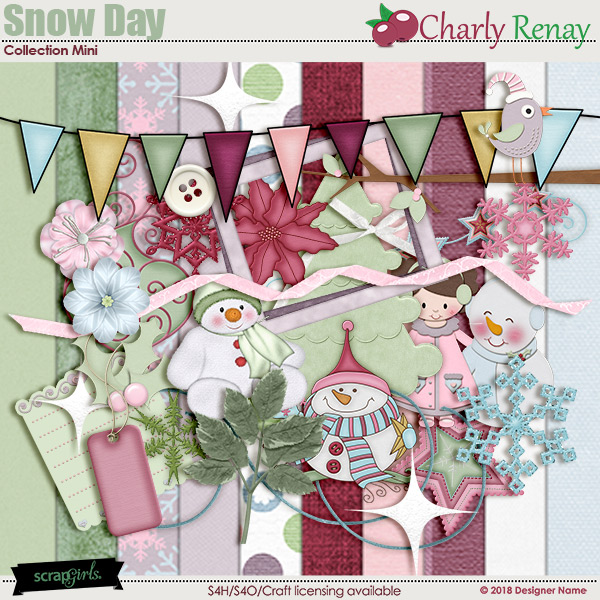 Snow Day Mini By Charly Renay