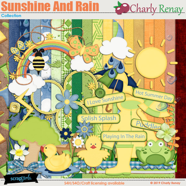 Sunshine And Rain Collection By Charly Renay
