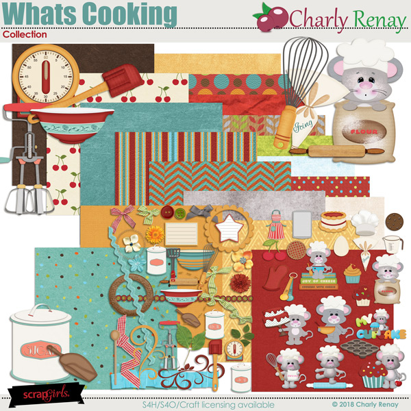 Whats Cooking Collection By Charly Renay