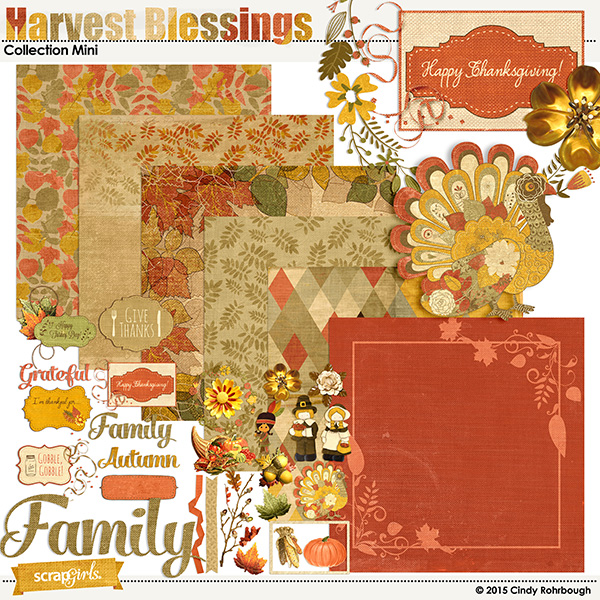 """Harvest Blessings"" Collection Mini by Cindy Rohrbough"