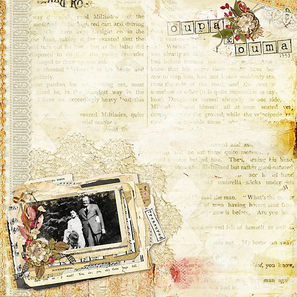 Digitial Scrapbooking Layout by Andrea-Rose Hutton